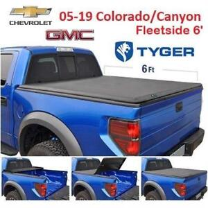 NEW TYGER TOPRO T1 TRUCK BED COVER TG-BC1C9013 232570891 For 2015-2019 Chevy Colorado / GMC Canyon | Fleetside 6' Bed