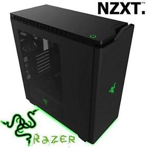 NEW* NZXT RAZER SP ED ATX PC TOWER MID TOWER - COMPUTER - BLACK - USB 3.0 - STEEL - SPECIAL EDITION