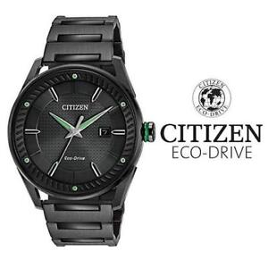 USED MEN'S CITIZEN ECO-DRIVE WATCH BM6985-55E 205658681 JEWELLERY JEWELRY STAINLESS STEEL