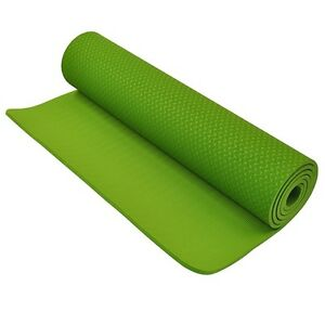 Fitness Depot 8mm Eco-Friendly TPE Yoga Mat, Green YGMTP818361G