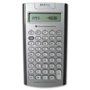 BAII PLUS™ PROFESSIONAL Calculator