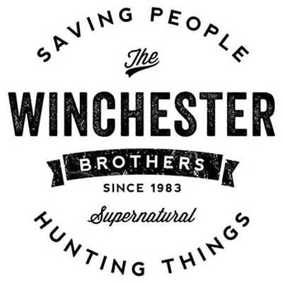 Supernatural Winchester Vinyl Decal Bumper Sticker Any Color Horror - Winchester Halloween