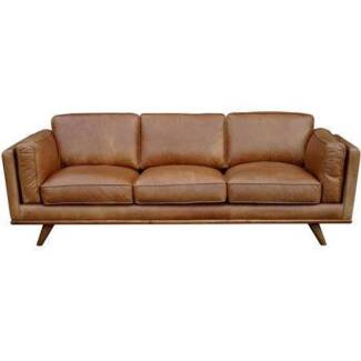 3 Seat Leather Sofa