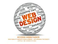 High Quality Website design   Affordable packages