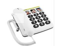 Doro 331C Big Button Telephone with 3 speed dial buttons