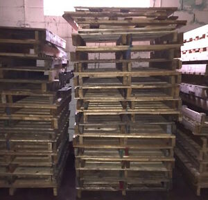 FREE Wooden Pallets / Skids Available While Quantities Last!