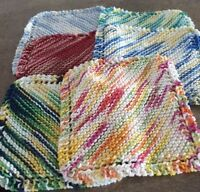 Supporting the SPCA-Handmade knitted dishcloths