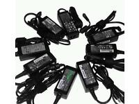 Laptop charger, Hp, Toshiba, Acer, Asus, Fujitsu, Sony, Samsung, Dell and Macbook adapters