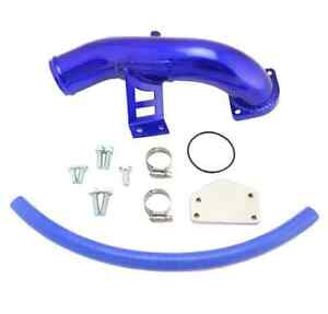 2004-2005 LLY Duramax Diesel EGR Delete Kit With Intake Elbow