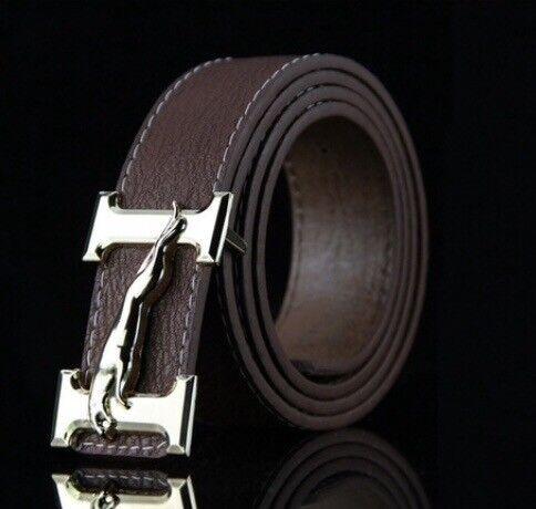 Men's casual buckle belt