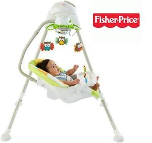 NEW OB FISHER-PRICE CRADLE'N SWING - 114954966 - WOODLAND FRIENDS