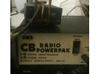 Cb radio power supply and power reducer