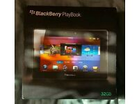 Blackberry playbook 32GB ipad
