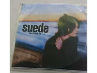 Best of suede double Cd promo copy