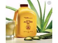 Aloe vera gel to help digestion. Genuine and sealed