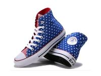 Converse Stars and Stripes Trainers Unisex UK Size 5.5