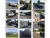 Caravan / Boat / Trailer towing delivery service