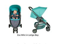 Graco Evo Mini lightweight pushchair/stroller