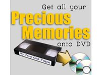 I will convert your VHS tape on to DVD