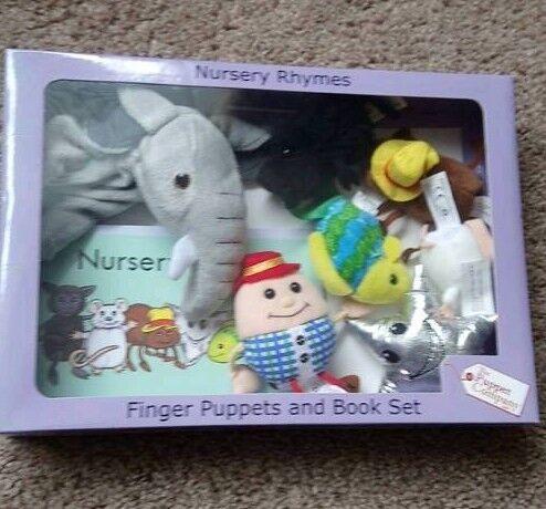 Finger Puppet Nursery Rhyme Set
