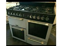Gas cooker and a hood