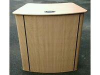 Portable pop up exhibition desk counter promotion s