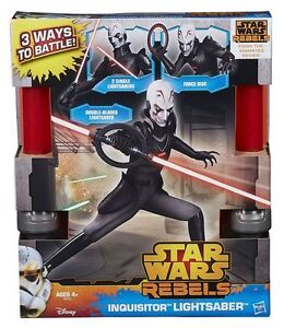 NEW: Star Wars Rebels Inquisitor Lightsaber