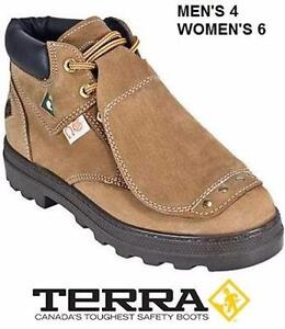 NEW TERRA H MET GUARD 18936H SAFETY SHOES - M 4 W 6