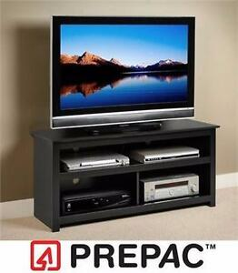 "NEW PREPAC FURNITURE FLAT PANEL TV CONSOLE   Flat Panel Plasma/LCD - 15""x22""x48"" WALL UNIT ENTERTAINMENT"
