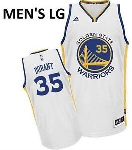 GOLDEN STATE WARRIORS - KEVIN DURANT JERSEY - MEN'S LG