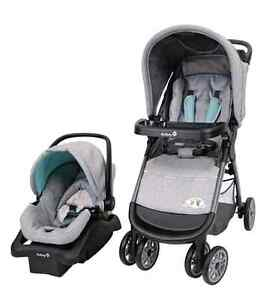 Safety First Stroller and Car Seat Travel System (Never opened)