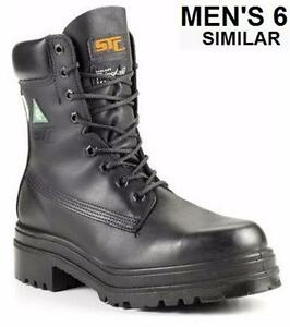 NEW STC - CHURCHILL THINSULATE CSA STATION BOOTS - MEN'S 6