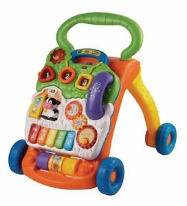 VTECH ALPHABET TRAIN AND SIT-TO-STAND WALKER- ENGLISH EDITION
