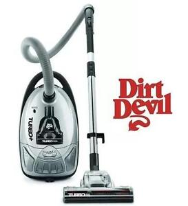 NEW DIRT DEVIL TURBO VACUUM Turbo Canister Plus Bagged Vacuum cleaner 106924170