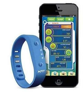 NEW XTREME XFIT WIRELESS ACTIVITY AND SLEEP MONITOR - BLUE