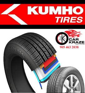 4 Brand New Tires Kumho195 65R15 $399 205 55R16 $460