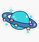 Planet Stickers and more