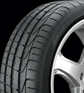 Pirelli Pzero Summer Ultra High Performance Tires 225 40 R18
