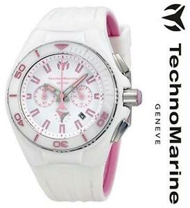 TECHNOMARINE CRUISE VISION II WHITE DIAL WHITE RUBBER LADIES WATCH