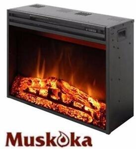 "NEW* MUSKOKA FIRE PANEL INSERT 23""  23.6""W x 9.5""D x 20""H HEATING HOME HEAT FIREPLACE AMBIANCE   83237765"