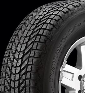 WANTED WINTERFORCE WINTER TIRES