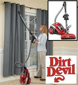NEW DIRT DEVIL CYCLONIC CANISTER VACUUM RED - BAGLESS - VACUUM CLEANER  cleaning floor care 79137012