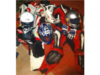 Motorbike race / road gear