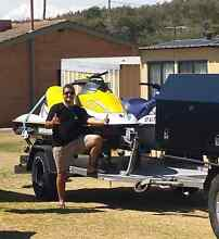 Double Jetski Trailer or Flat bed. Edgewater Joondalup Area Preview