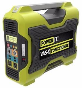 Power It 1000W Battery Generator (BRAND NEW) $269.99