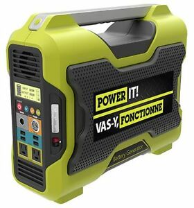 Power It! 1000W Lithium Ion Battery Generator (NEW)