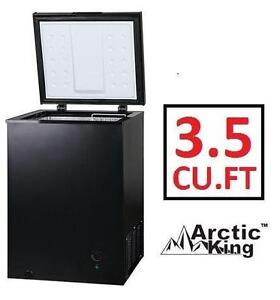 USED ARCTIC KING CHEST FREEZER 3.5 CU. FT. - BLACK - HOME KITCHEN FREEZER APPLIANCE 103053949