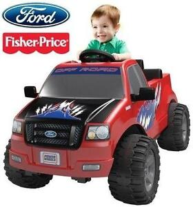 NEW* FP LIL' F-150 KIDS 6V RIDE ON FISHER PRICE - POWER WHEELS - 6 VOLT - RED - RIDE-ON CAR TOY 103421261