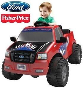 NEW FP LIL' F-150 KIDS 6V RIDE ON FISHER PRICE - POWER WHEELS - 6 VOLT - RED - RIDE-ON CAR TOY  79370711