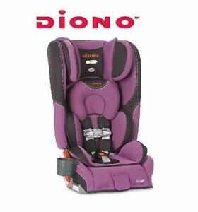 NEW DIONO SEAT GLACIER CAR SEAT   RAINER SEAT Purple/Black GLACIER BOOSTER BABY SAFETY TRAVEL GEAR 92224550